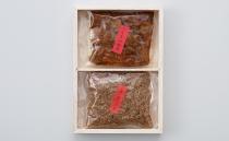 詰合せ2 <山椒入りしらす煮+鰻の山椒煮>  木箱入