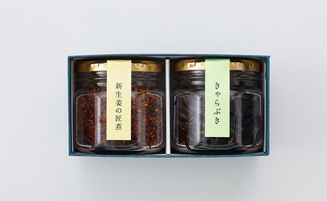 瓶入詰合せ2 <新生姜の匠煮+きゃらぶき>